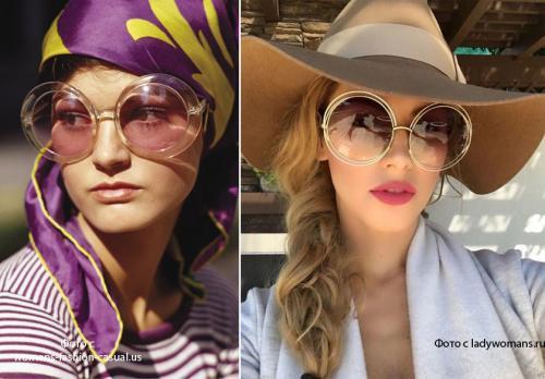 Как подобрать к лицу очки солнечные. Модные солнцезащитные очки 2020. Правила подбора очков по форме лица