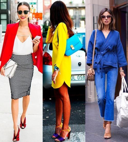 Модный цвет 2019 года. Модные сочетания цветов в одежде 2020-2021 года