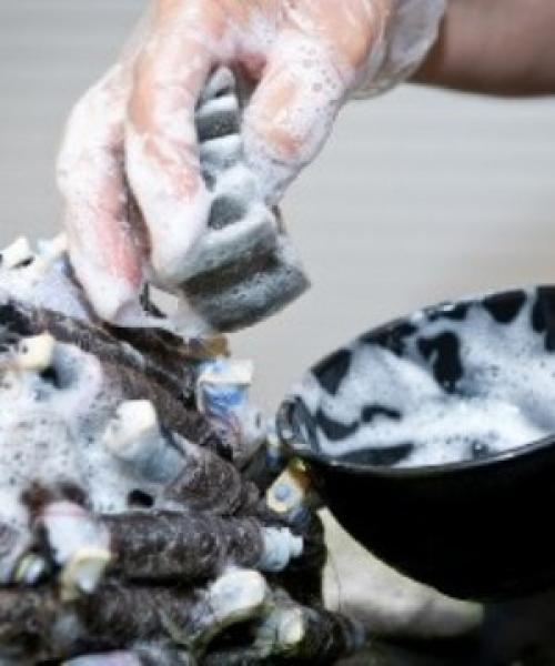 Как сделать мокрую химию на коротких волосах в домашних условиях. Вертикальная химия на короткие волосы в домашних условиях
