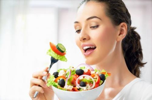 Если есть одни овощи похудеешь.