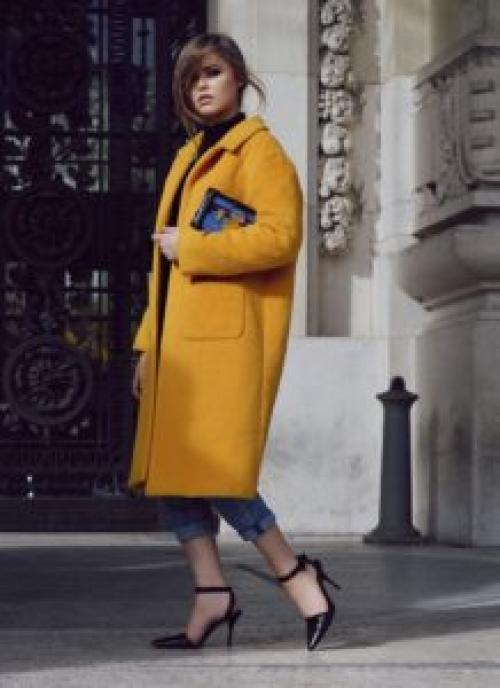 Пальто оверсайз 2019 с чем носить. Какие цвета пальто будут популярны
