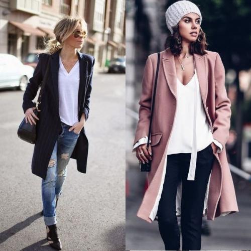 С чем носить пиджак длинный женский. Какого цвета должен быть длинный пиджак в этом сезоне