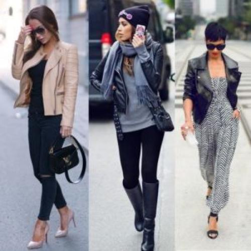 Черный кожаный пиджак женский. С чем носить женский пиджак: многообразие характеров