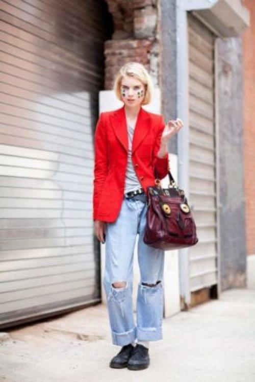 Пиджаки женские под джинсы. Пиджак и джинсы: цветовое сочетание