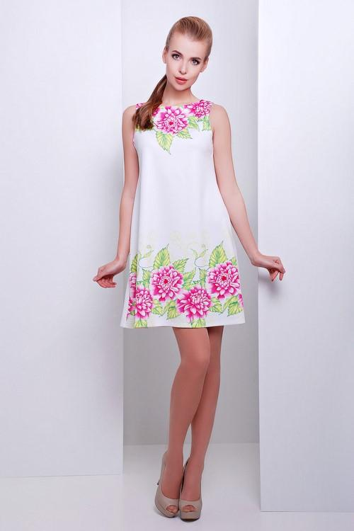 С чем носить платье трапеция. Просто и стильно: модные платья трапеция