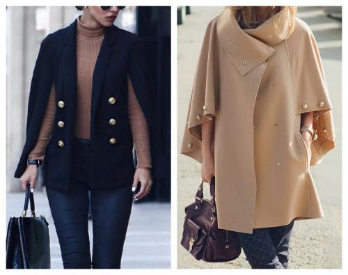 Стильные образы в пальто. Самые стильные фасоны