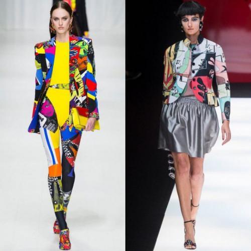 Кожаные пиджаки женские 2019. Актуальные расцветки и принты