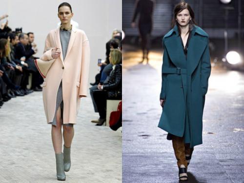 С чем носить пальто оверсайз осенью. Модные фасоны