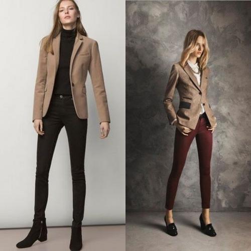 Женский бежевый пиджак с чем носить. Модели пиджаков белого цвета: фото интересных фасонов