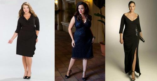 Платья в клетку для полных. Красивые и модные фасоны платьев для полных женщин