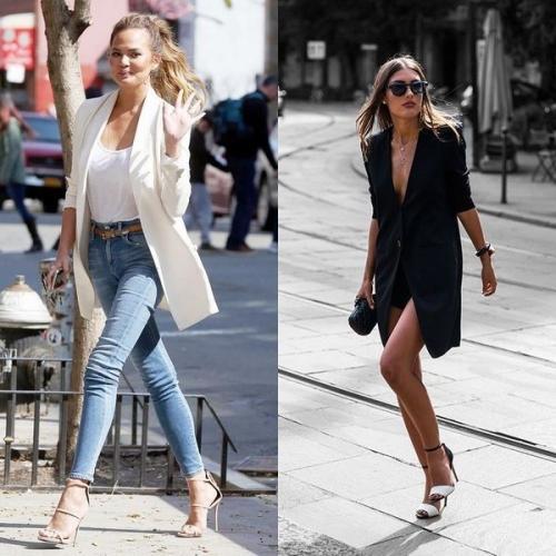 С чем носить черный пиджак удлиненный. Модные тренды 2020 года: эксперименты с тканью длинных пиджаков