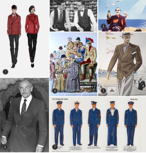 Однобортный пиджак мужской. История двубортных пиджаков