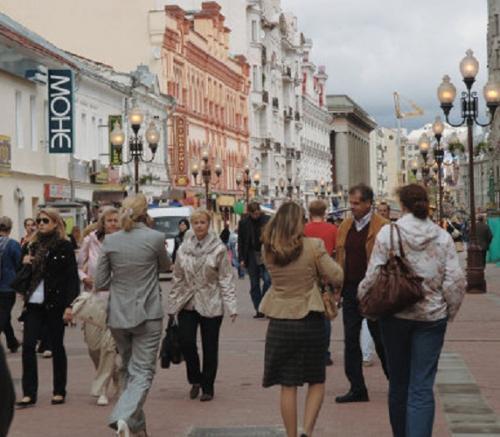 В чем ходят сейчас в Москве. Как одеваться в Москве