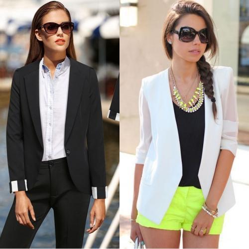 Как называется длинный женский пиджак. Как называется женский пиджак без пуговиц?
