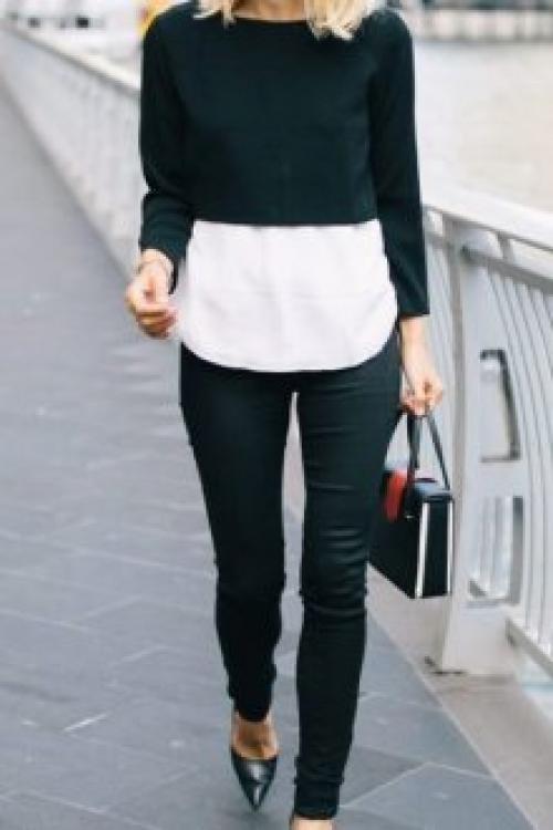 Короткий свитер с чем носить. С чем носить Носить короткий свитер можно по-разному. Такие вещи советуют приобрести обладательницам худощавого телосложения, ведь подобные джемперы привлекают взгляды благодаря укороченному крою.