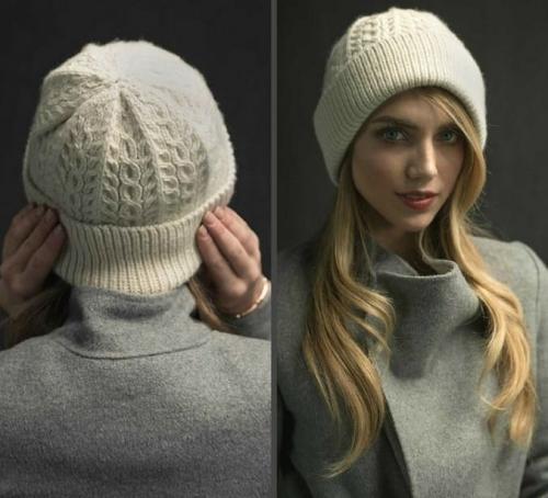 Модные шапки связать. Схема вязания модной шапки Wayworn