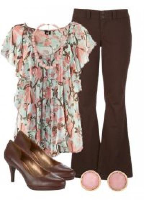 Мокко цвет одежды.