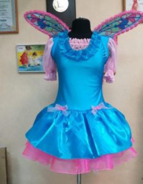 Платье феи для девочки своими руками. Как сделать костюм феи Винкс своими руками