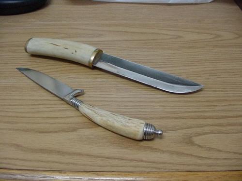 Оленьи рога своими руками. Какие рога используются для рукоятки