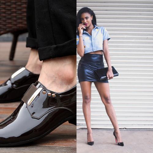 Обувь натуральный лак, что это. Натуральная и искусственная лаковая кожа