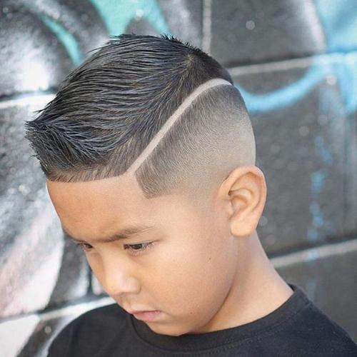 Чем делать узоры на голове. Идеи причесок с рисунками на голове для мальчиков