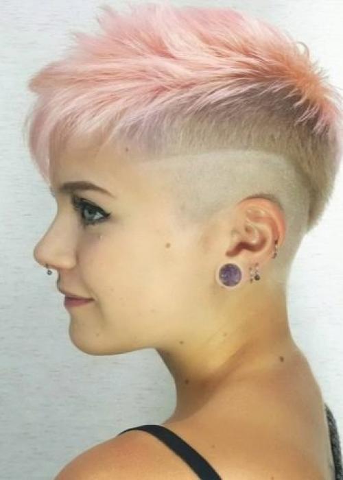 Рисунки на голове для девушек. Выбритые рисунки на голове: 9 оригинальных причёсок для смелых девушек 19