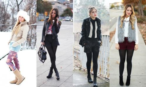 Черные шорты с завышенной талией с чем носить. Общие рекомендации