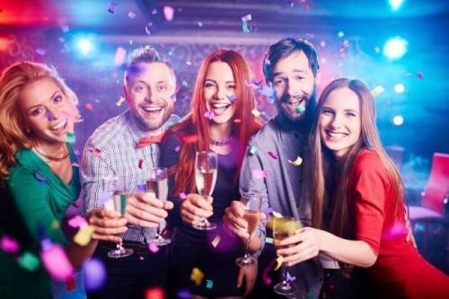 Корпоративные вечеринки на новый год.