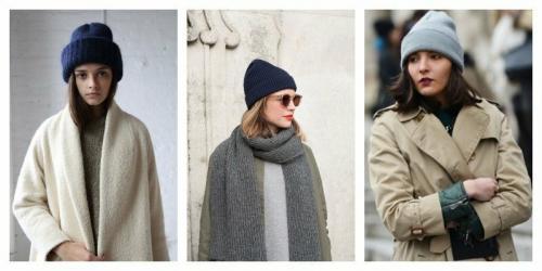 Модные меховые шапки 2019. Трикотажная шапочка – удобно и современно